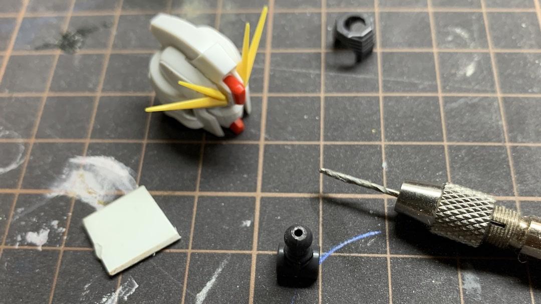 MGF91ver2.0 首の延長工作3