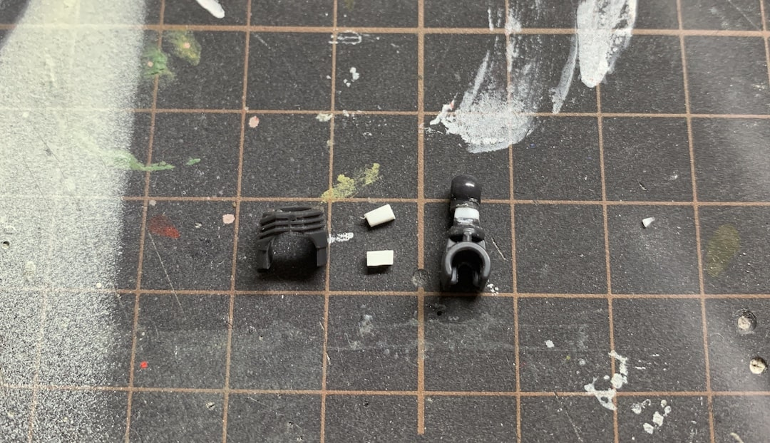 MGF91ver2.0 首の延長工作5